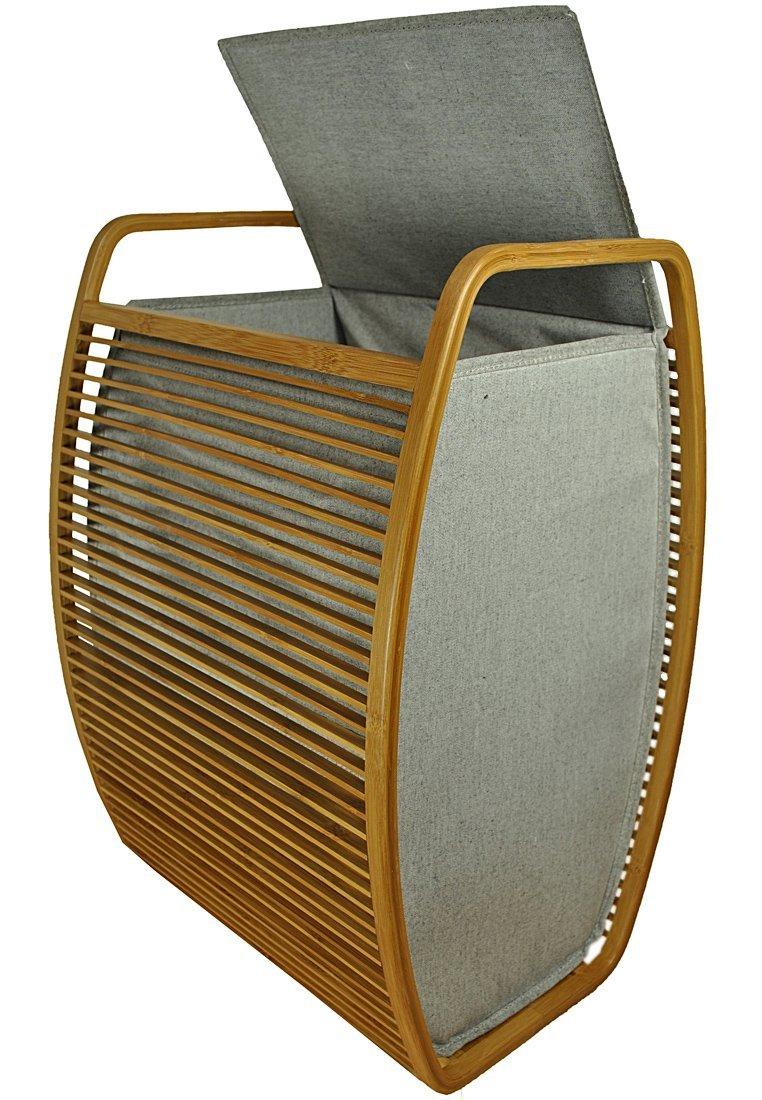 Design Wäschekorb Bambus