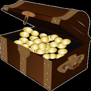 Schatzkiste Truhenbank